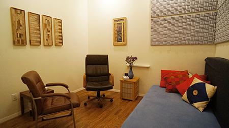 Integrated Feeling Therapy Treatment Room